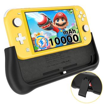 Newdery 10400mAh Battery Charger Case for Nintendo Switch Lite Support PD & QC 3.0 Fast Charging Backup Charger Station