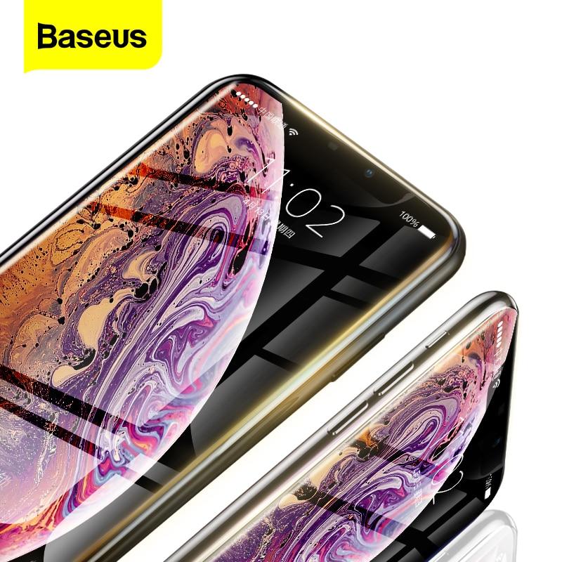 Baseus 0.23 millimetri Protezione Dello Schermo Per il iPhone 11 Pro Max XS Max XR X 11pro Temperato Vetro Della Copertura Completa di Protezione vetro Per iPhone11