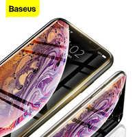 Baseus 0.23mm protetor de tela para iphone 11pro max xs max xr x 11pro vidro temperado capa completa de vidro protetor para iphone11