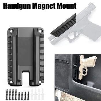 Magnetic Gun Holster Gun Holder Gun Magnet Mount Concealed Quick Draw Loaded Fits Flat Top Handguns my life had stood a loaded gun