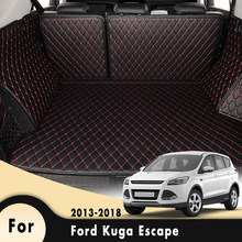 Car Floor Trunk Carpet Rugs Mats Auto Accessories Car-styling Mat Rug For Ford Kuga Escape 2013 2014 2015 2016 2017 2018