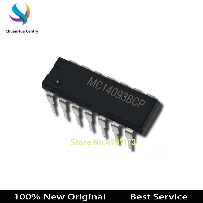 5 Pcs MC14093BCP DIP14 100% New Original MC14093BCP In Stock Bigger Discount for the More Quantity image