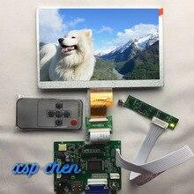 7-дюймовый IPS экран 1024*600, ЖК-монитор TFT, с платой управления драйвером, 2AV, HDMI, VGA, для Raspberry Pi