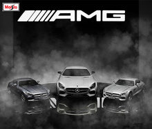 Maisto 1:18 Mercedes Benz AMG GT Alloy car model die-casting model car simulation car decoration collection gift toy(China)