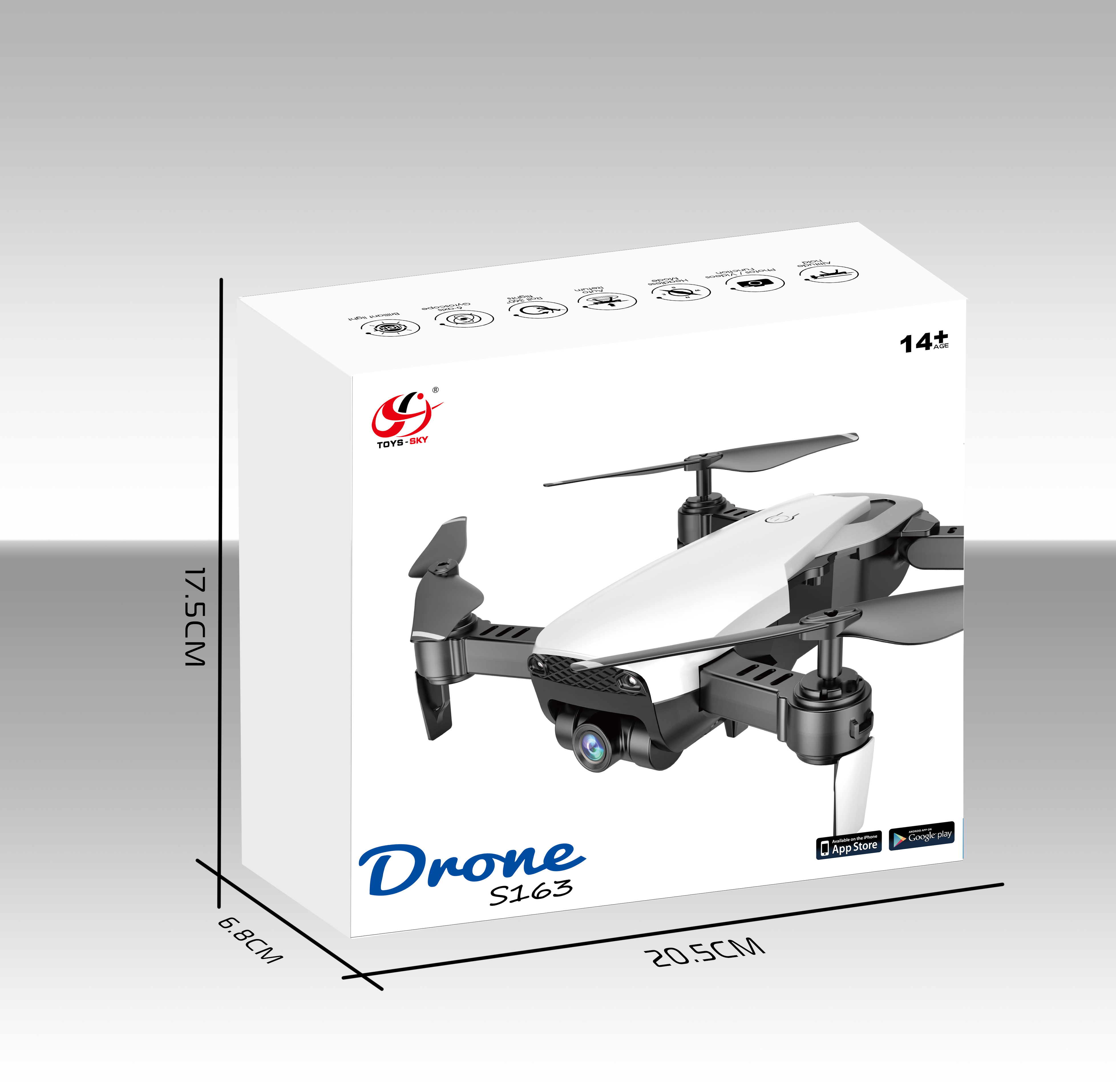 RC Drone 4K HD Camera Professional Aerial Photography Helicopter Foldable Real Time Transmission Quadcopter 4