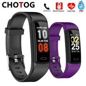 Fitness Tracker Bracelet IP67 Waterproof Smart Bracelet Heart Rate Band Watch Fitness Bracelet Blood Pressure For Android IOS