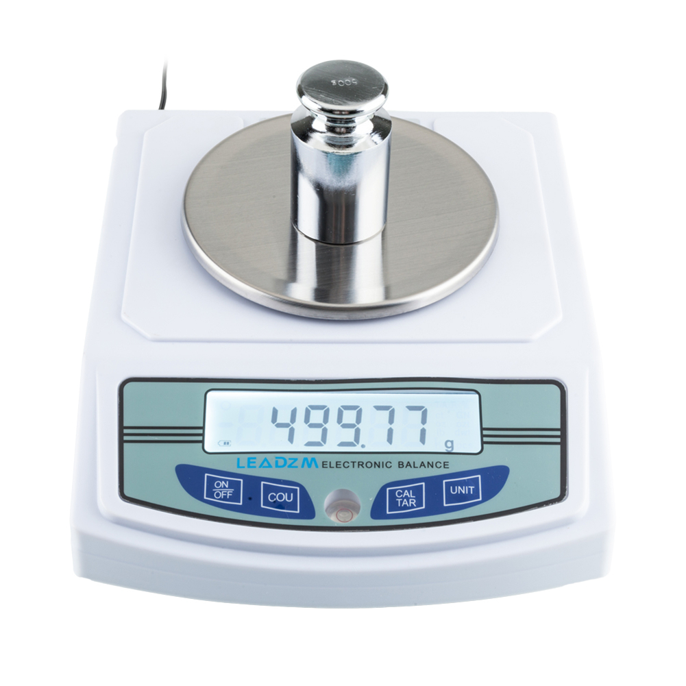 Balances portatives de bijoux d'échelle de laboratoire d'équilibre électronique de la haute précision 3000g/0.01g avec l'écran numérique d'affichage à cristaux liquides - 4