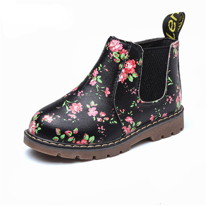 Children Girl Martin Boots Shoes Baby