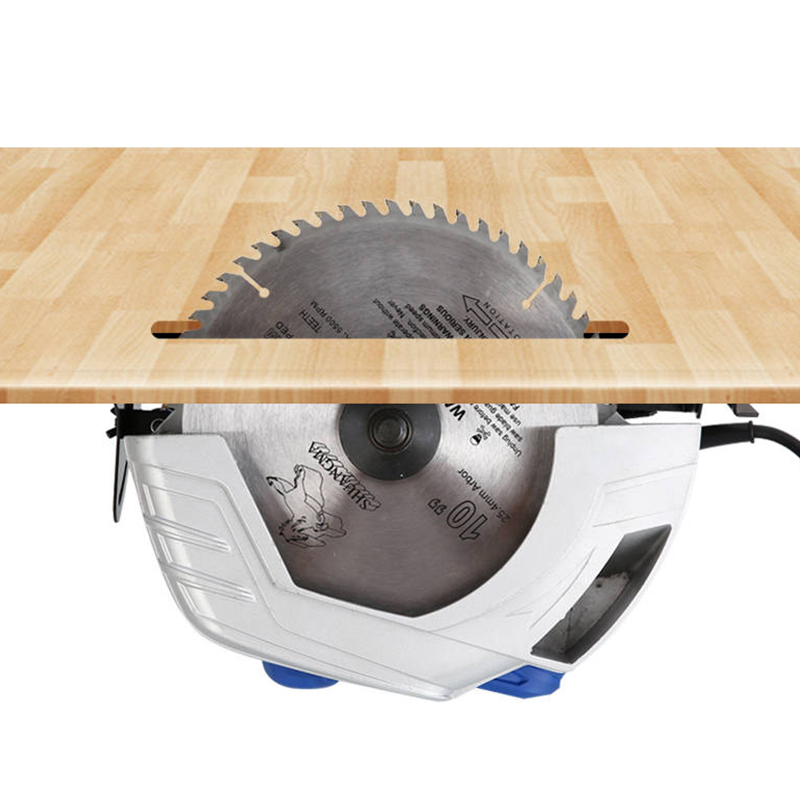 Image 5 - Electric Woodworking Circular Saw 1500W 7 inch 60mm Multi function Cutting Machine Household Small Flip Saw CircularElectric Saws   -
