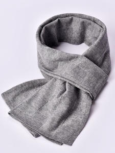 Wool Scarf Wraps Pashmina Foulard Winter Brand Solid Men for Warm-Echarpe Man's Muffler
