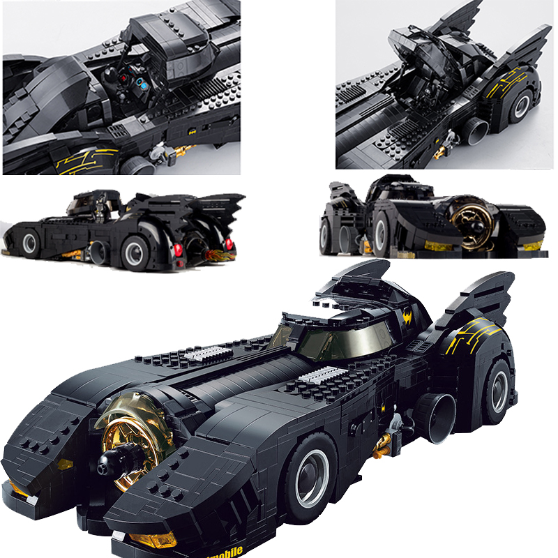 Technic The Ultimate Batmobile Compatible Car Set Building Blocks Super Heroes Bricks Toys For Child Birthday Gifts
