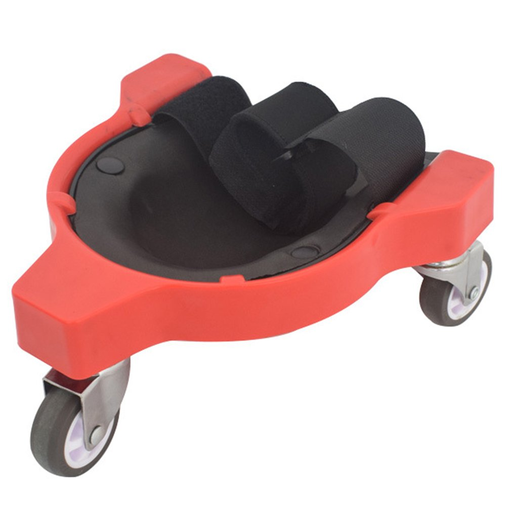 Rolling Knee Protection Pad With Wheel Built In Foam Padded Laying Platform Universal Wheel Kneeling Pad