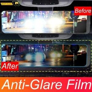 Universal Interior Rear View Mirror Anti Glare Film Anti Scartchproof Fog Nano Protective Sticker Car Accessories