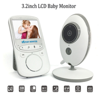 VB605 Home Wireless Video Baby Monitor 2.4G HD WiFi Control IR Night Vision 2 way Intercom Security Camera Baby Phone