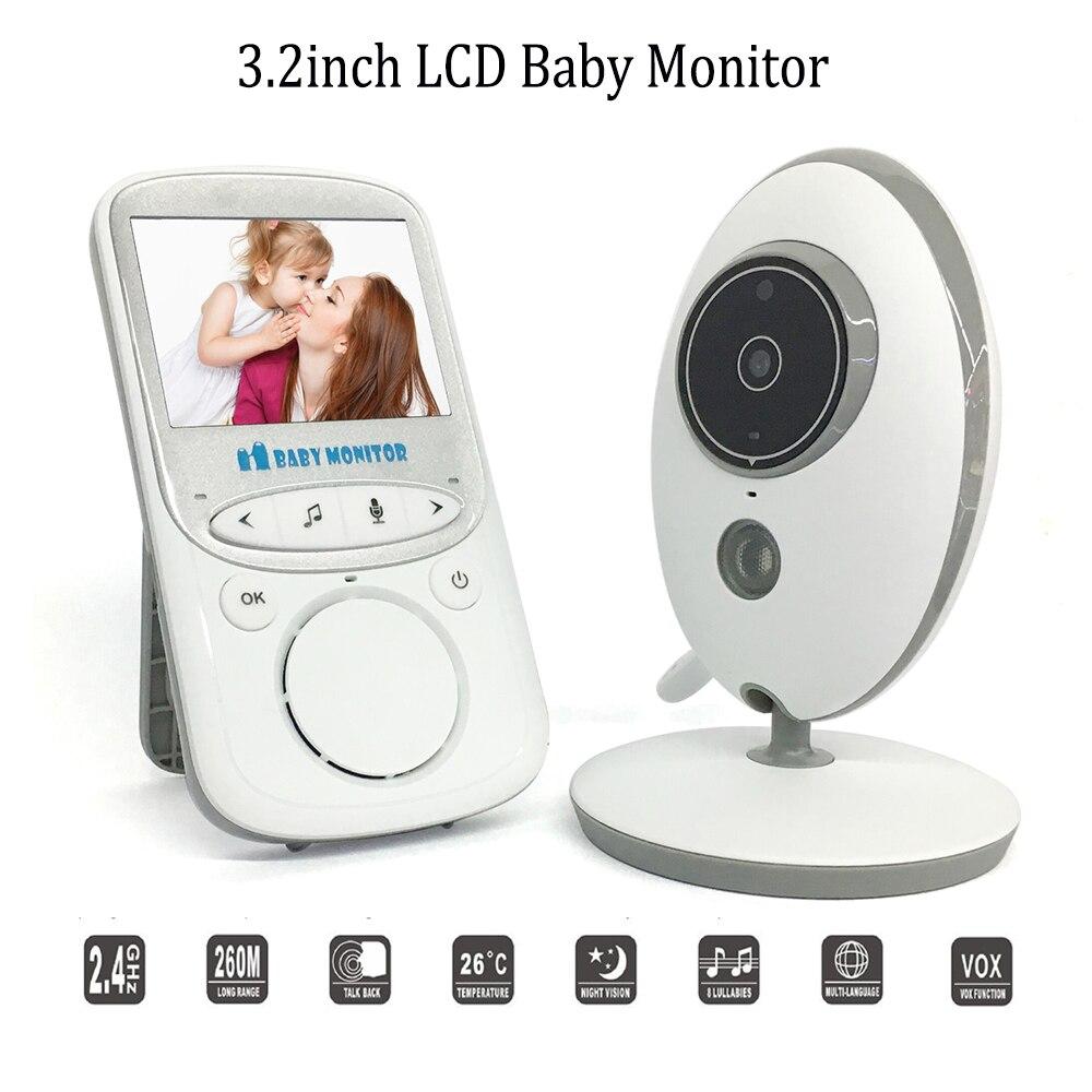 VB605 moniteur bébé vidéo sans fil 2.4G HD WiFi contrôle IR Vision nocturne interphone 2 voies caméra de sécurité bébé téléphone