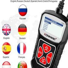 Obd2-Scanner Diagnostic-Tool Russian Elm327 Konnwei Kw310 Language Auto Obd for PK