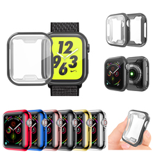 Watch-Cover-Case Screen-Protector Apple Watch 42mm-Accessories 44MM for 5/4 40MM Soft