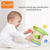 Toy Musical Instrument Kids Baby Hand Drums Children Pat Drum Musical Instruments Baby Toys 6 12 Months Music Toys For Baby