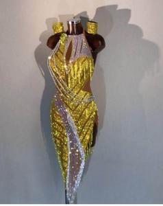 Image 1 - ריקוד לטיני שמלה חדש שמלת תחרות ריקוד לטיני, סלסה, לטיני שמלת תלבושות לימון הואנג Shuijing לטיני שמלה