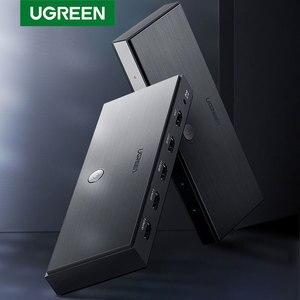 Image 1 - Ugreen HDMI 2.0 Splitter UHD 4K/60Hz HDR Adapter HDMI 1x 4/1x2 HDMI 1 wejście 4 konwerter wyjściowy dla PS4/3 HDTV rozdzielacz HDMI