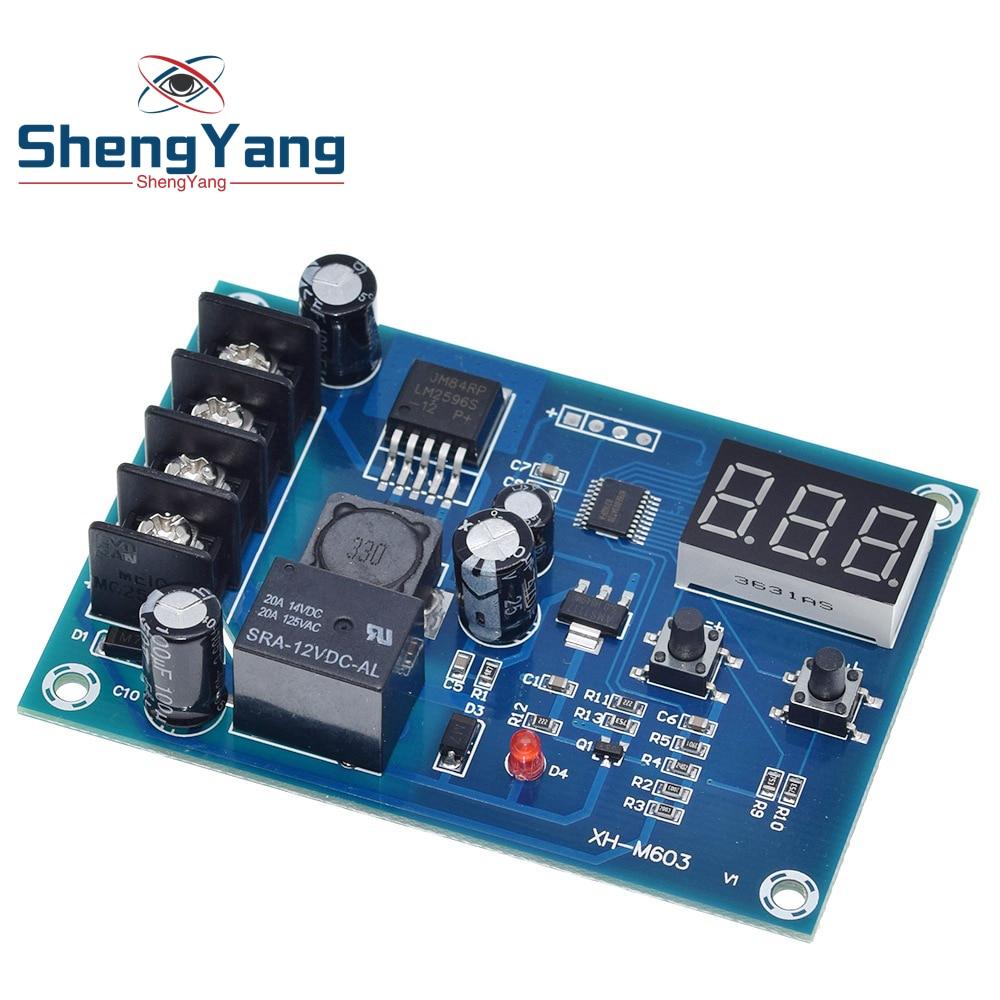 XH-M603 зарядки Управление модуль 12-24V хранения литиевой Батарея Зарядное устройство Управление переключатель защиты доска с светодиодный Дис...