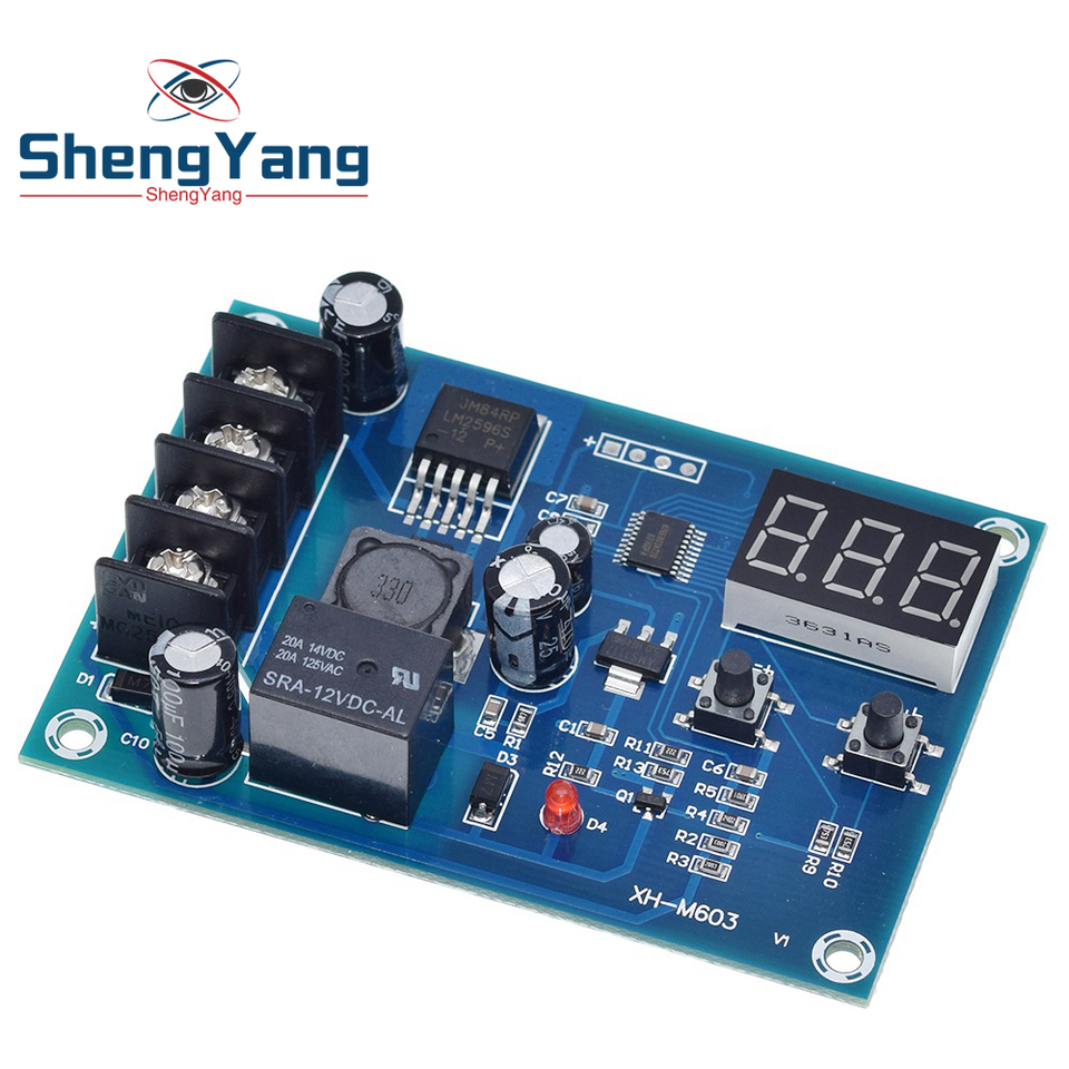 XH-M603 Charge Control Module DC12V-24V Storage Lithium Battery Protection Board