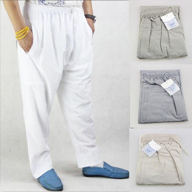 Pantalones Abaya para hombre, ropa árabe musulmana islámica, pantalones de Ramadán, Arabia Saudita, Mubarak, Pakistán, pantalones de algodón holgados de pierna ancha