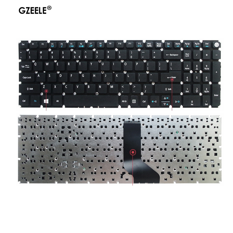 New US Laptop Keyboard For Acer Aspire 5 A515-51 A515-51G A517 A517-51-5832 A515 A615-51 N17C4 TX50-G N16Q2 TMTX50