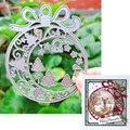 Подходит для рождественской резки металла и альбом для скрапбукинга DIY Поздравительная открытка изготовление 3D колокол рамка форма 2020 Нови...