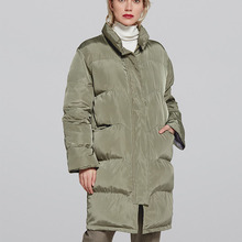 New Meternity Coat Winter Fashion Hooded Thick Plus Size Coat Female Korean Version of Hooded Long Sleeve Pregnant Woman Coat plus size asymmetrical hooded coat
