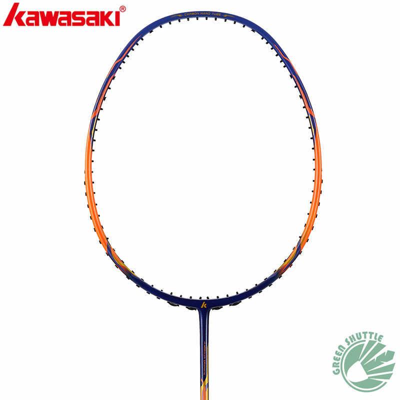 Neue 2020 Kawasaki Badminton Schläger Geschwindigkeit Ninja X266 Angriff Firefox 3370 für Männer und Frauen Carbon Einzigen Schläger Mit Freies grip