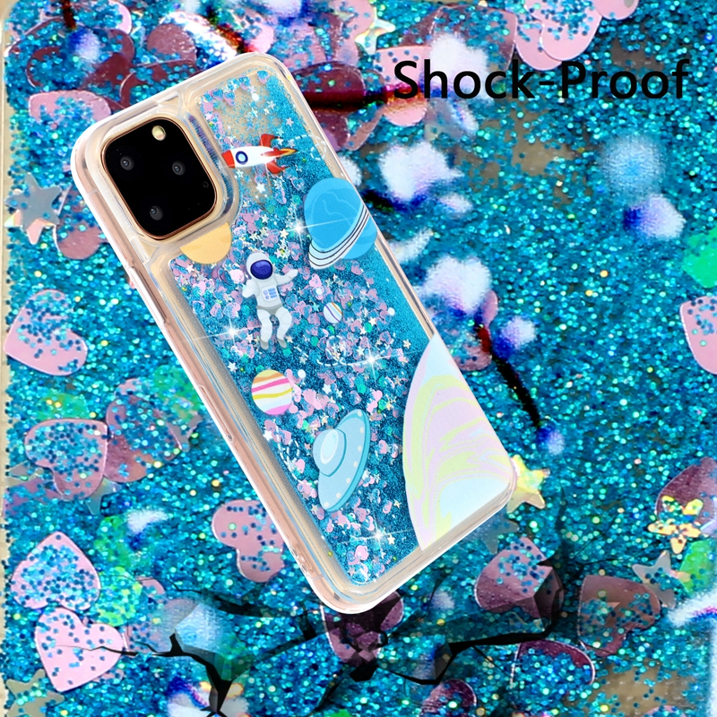 Girls Glitter Star Case for iPhone 11/11 Pro/11 Pro Max 8