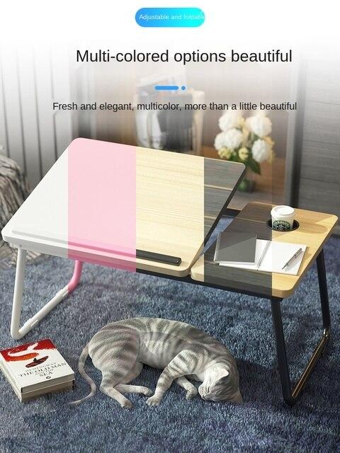 Business Accessories & Gadgets Laptop Desk Bed Adjustable Desktop Table