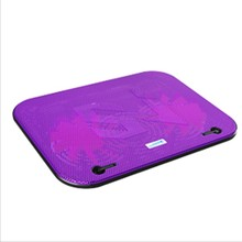 New Laptop Cooling Pad 2 Air Fan Low Noise USB Powered Computer Notbook