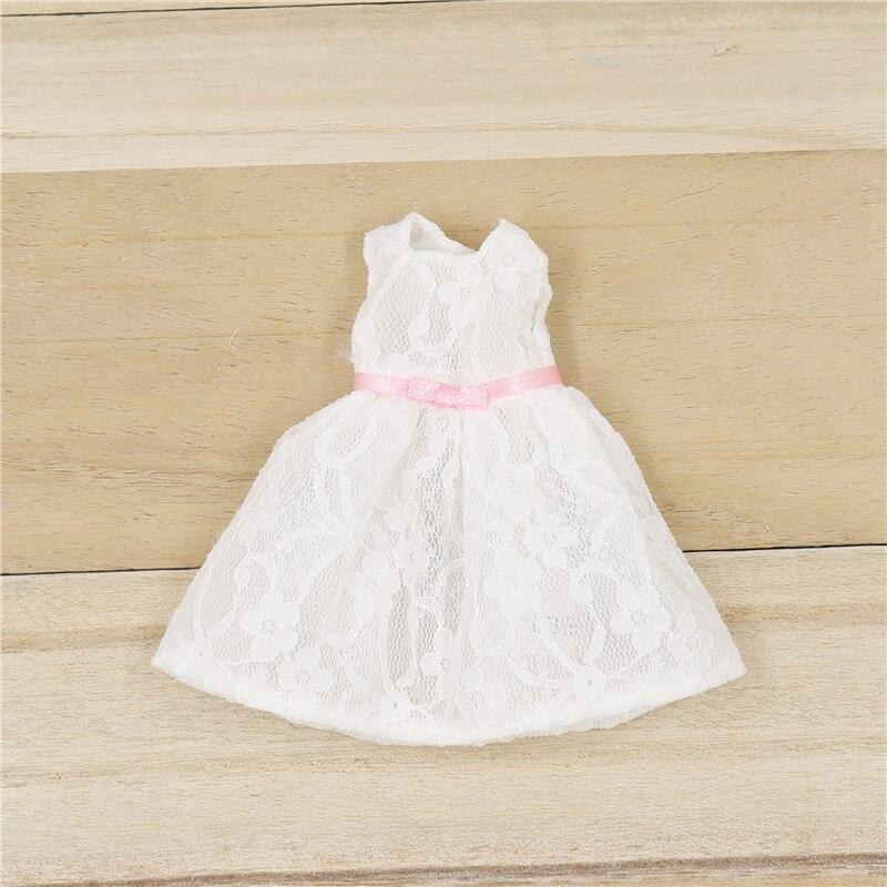 Neo Blythe Doll Elegant White Net Frock 1
