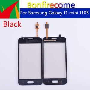 Image 1 - J105 10pcs \ lote Para Samsung Galaxy J1 mini J105 J105H J105F J105B J105M SM J105F Touch Screen painel de Digitador de Vidro Touchscreen
