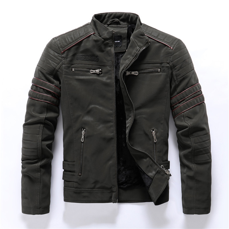 bomber-hommes-vestes-en-cuir-moto-col-montant-fermeture-eclair-poches-male-taille-americaine-pu-manteaux-biker-faux-cuir-vetements-mode