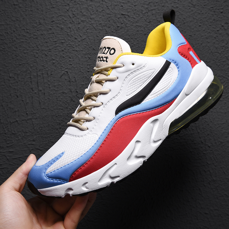 Shoes Men Breathable Fitness Sports Running Shoes For Adults Outdoors Couple Sneakers Mesh Air Cushion Women Jogging Trainers