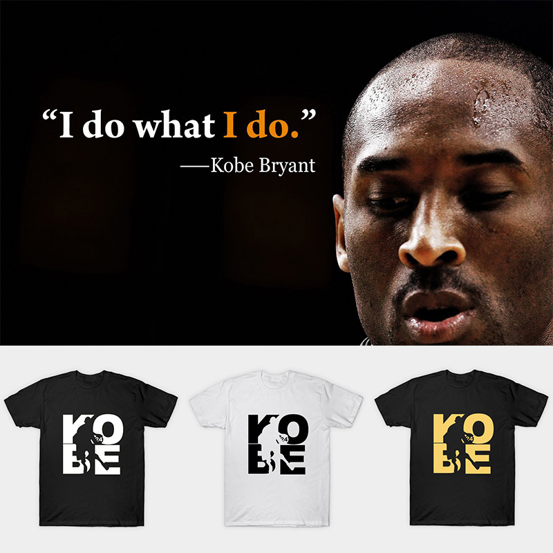 Cherish The Memory Of Kobe Bryant T Shirt Men Short Sleeve 100% Cotton O Neck Casual T Shirts For Kobe Fans Gift
