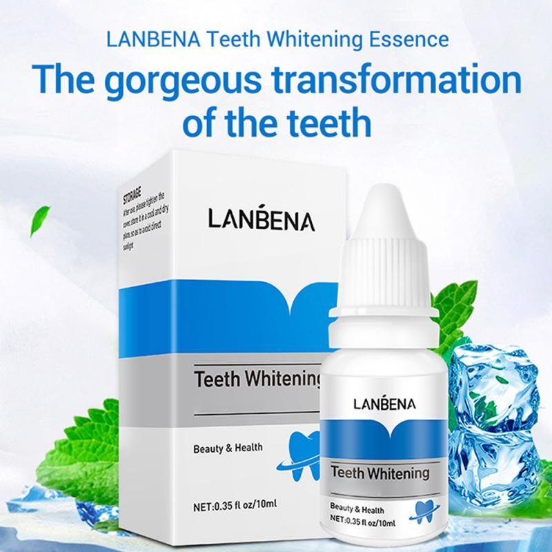 2021 LanBeNA гигиена полости рта отбеливающая Сыворотка для зубов отбеливающая зубная паста для удаления пятен от зубного налета инструмент для ...