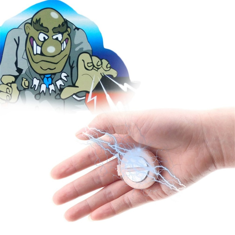 Original Funny Shocking Hand Buzzer Shock Joke Toy Prank Novelty Funny Electric Buzzer Party Play Joke Trick Toy