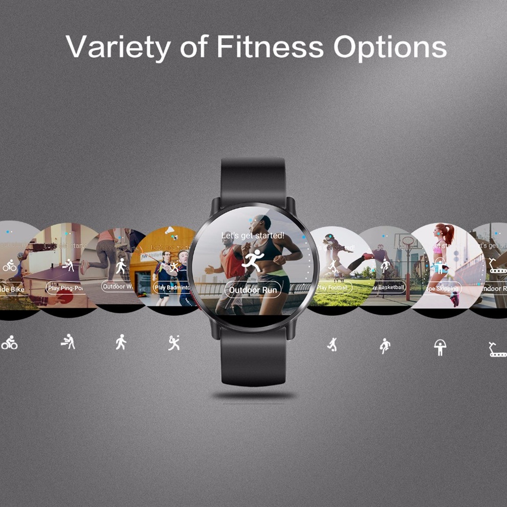 DM19 4G Waterproof Smart Watch with Android 2.03 Inch screen 900Mah battery 8MP Camera Bluetooth GPS maps For Men 3