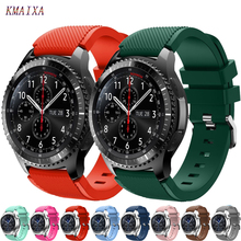 Gear s3 Frontier Strap for samsung Galaxy watch 46mm 42mm active huawei gt strap 22mm band correa amazfit bip