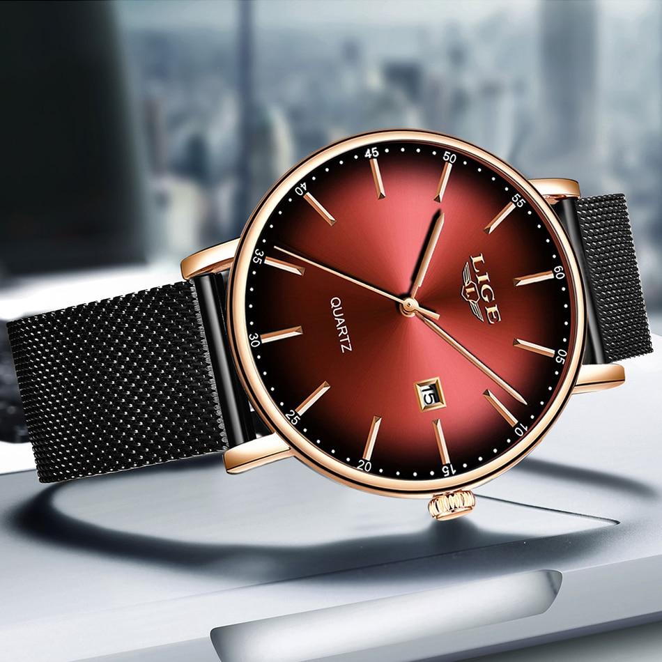H3844e3d4b3d544779341123fe5b9eb60P LIGE Fashion Mens Watches Top Brand Luxury Blue Waterproof Watches Ultra Thin Date Simple Casual Quartz Watch Men Sports Clock