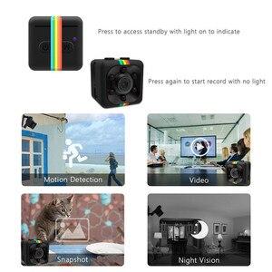 Image 5 - SQ11 Mini Camera Hd 1080P Kleine Cam Sensor Nachtzicht Camcorder Micro Video Camera Dvr Dv Motion Recorder Camcorder sq 11