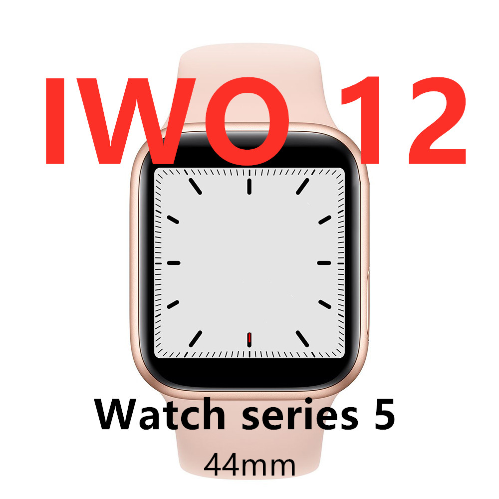 Watch 5 IWO 12 Bluetooth Smart Watch 1:1 SmartWatch 44mm Case for Apple iOS Android phone Heart Rate PK IWO 11 Pro image