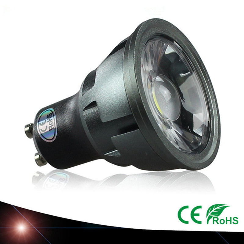Светодиодная лампа GU10 для точечного светильника, 3 Вт, 5 Вт, 7 Вт, 110 В, 220 В, 240 в, COB лампа, теплый белый свет, 3000k, естественный белый, 4000k, белый, 6500k...