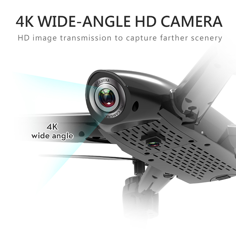 SG106 WiFi Drones With Camera 4K Dual Camera Optical Flow Aerial Video Helicopter RC Quadcopter For Toys Kid RTF Dron 4k Drone 1