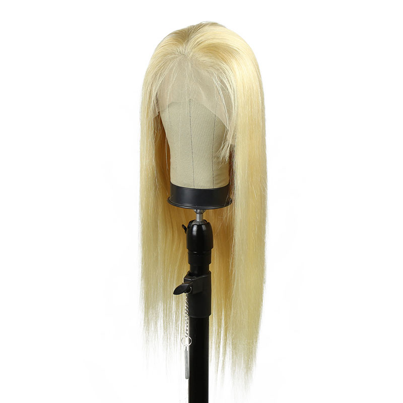 Wholesale Wigs 100% Human Hair Lace Front Wig Highlight Color Lace Hair Wigs