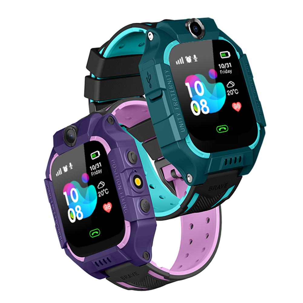 Gps-Tracker Smart-Watch Waterproof Q12 Sim-Card Anti-Lost Android Children's Ip67-Deep
